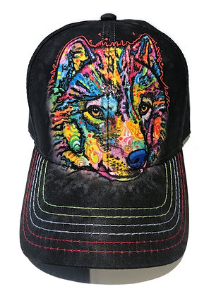Happy Wolf Baseball Cap
