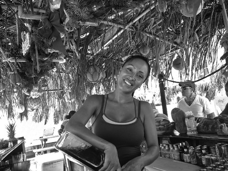 Beach Bartender, St. Martin