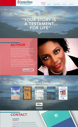 CAROLYN ELLISON: Author & Speaker