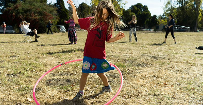 Hula Hoop classes by Eve and Logan