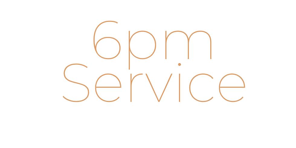 Oct 11th Sunday Service Registration 6pm