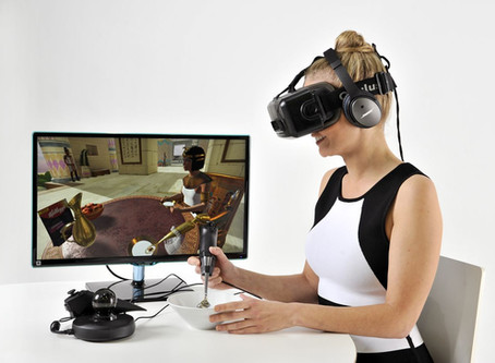 Созданы технологии, придающие вкус виртуальному пространству