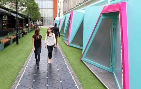 Концепция умной улицы протестирована в Лондоне