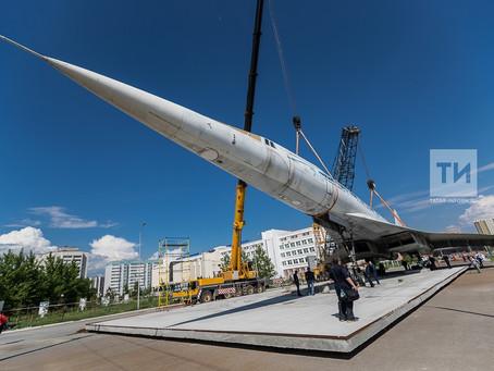 Уникальный музей внутри Ту-144: проблемы и решения