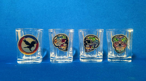 Heraldry Symbol Shot Glasses