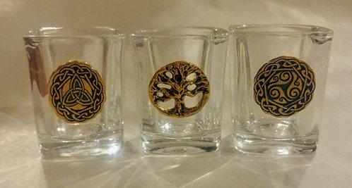 Celtic Shot Glasses
