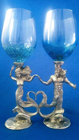 Neptune and Sea Queen Pair