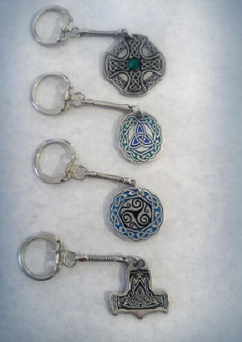 Celtic and Norse Keychains