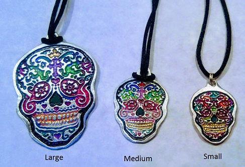 Sugar Skull Medallions