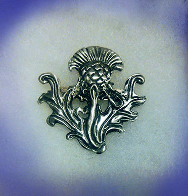 Large Scottish Thistle Pin