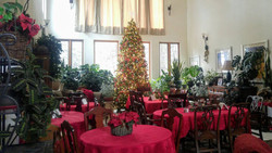 The Great Hall where breakfast is served
