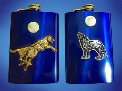 Wolf Flasks