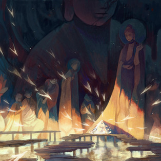 Flaming Bodhi