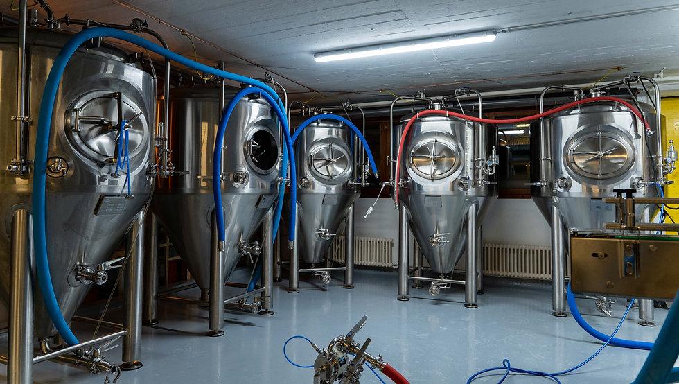 Brauanlage Brauerei Oerlikon