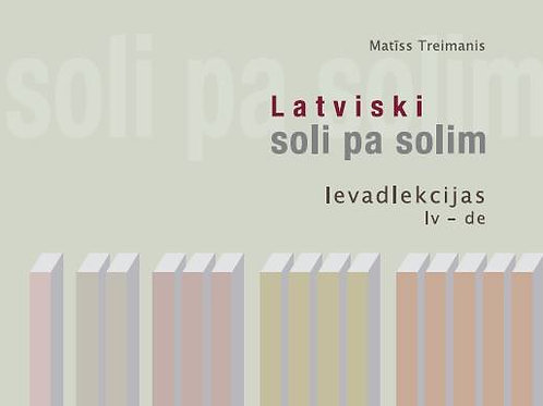 Latviski soli pa solim. Ievadlekcija