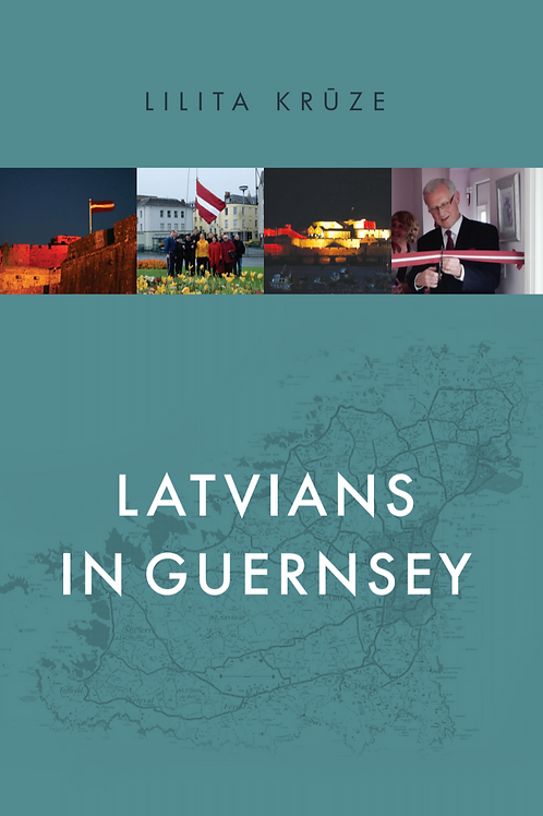 Latvians in Guernsey, Lilita Krūze