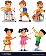 children-playing-instruments-vector-1510