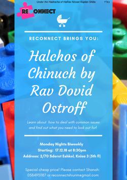 Halchos of Chinuch by Rav Dovid Ostroff.