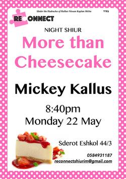 more than cheesecake