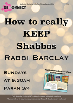 how to really keep shabbos 2