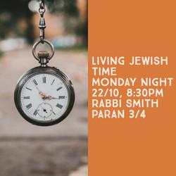 rabbi smith time