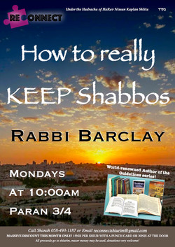 how to really keep shabbos