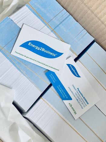 Cartes de Visite Energy 2 Business