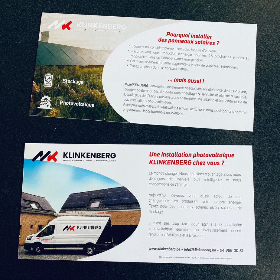 Flyers Klinkenberg Photovoltaic