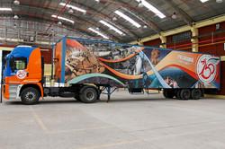 Patagonia 150 Celebrations truck