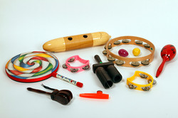 Hand-held percussion