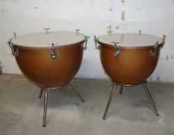 A pair of timpani