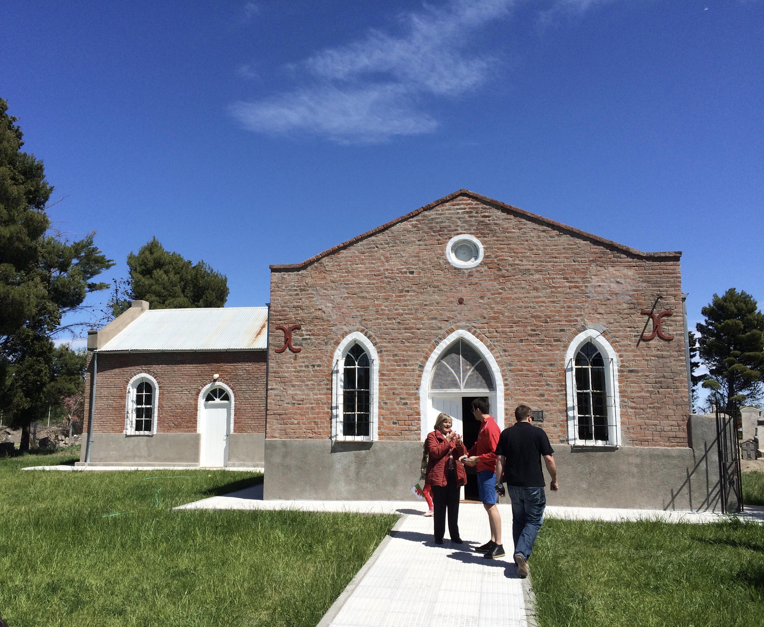 Moriah Chapel, near Trelew