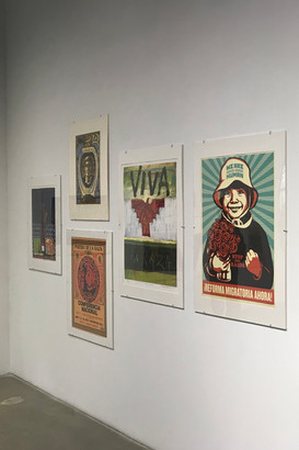 """opening reception at SDSU Downtown Gallery of """"Chicano/a/x Printmaking: Making Prints and Making History – 50 Years of Art Activism"""""""