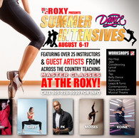 ROXY Summer INTESNSIVES!