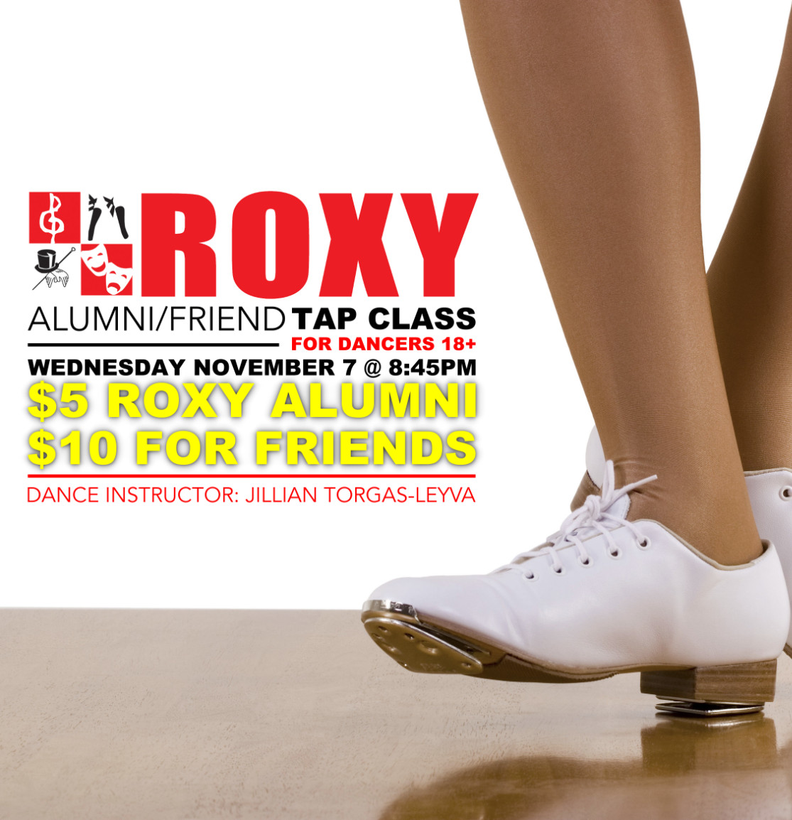 ROXY Alumin/Friend Tap Class