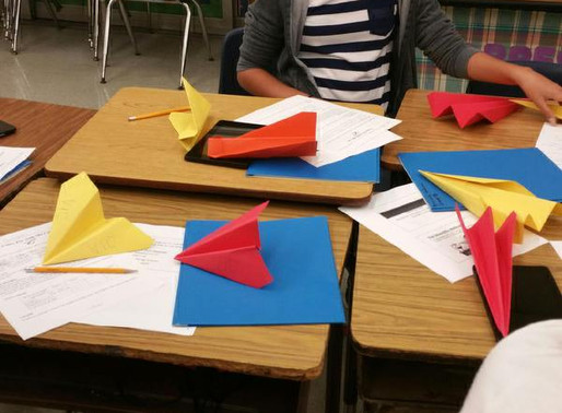 Paper Airplane Challenge, June 2016!