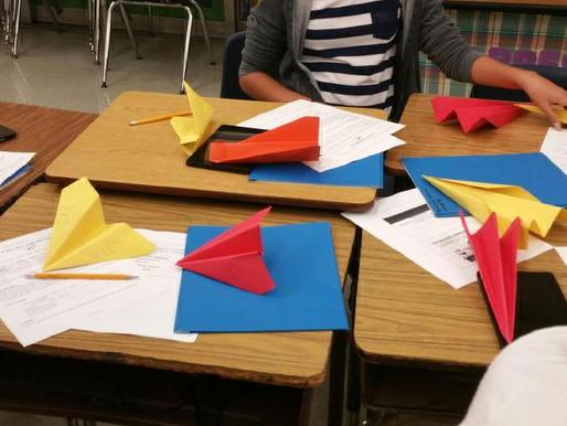 Paper Airplane Challenge, June 2016!