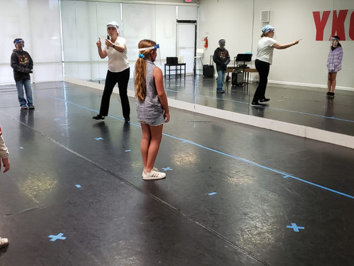 SOCIALLY DISTANT PERFORMING ARTS CLASSES