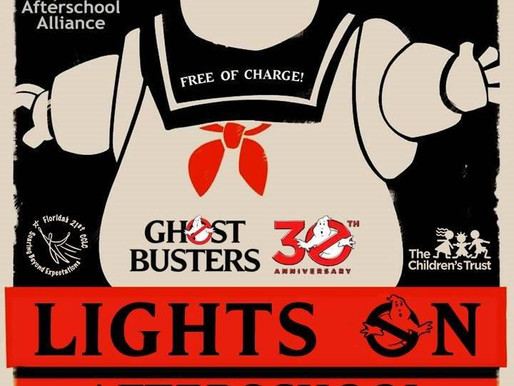 Lights On AfterSchool 2014:  A Tribute to Ghostbusters