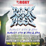ROXY 2018 Summer Series Presents: ROCK of AGES