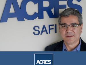 Fernando Melgar Barabino asume la gerencia general de ACRES SAFI