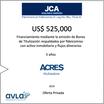 Nuevo financiamiento de ACRES Titulizadora con respaldo inmobiliario