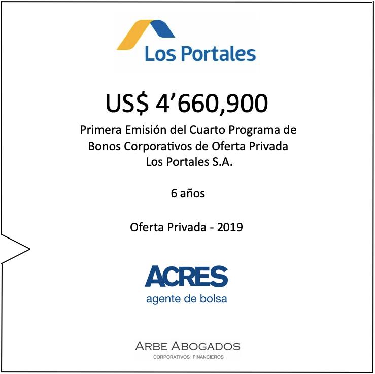 Bonos | Financiamiento | ACRES SAB | Los Portales | ACRES Finance