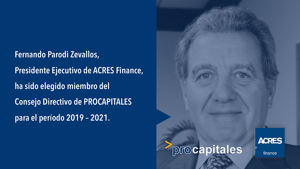 Procapitales | Mercado de Capitales | ACRES Finance | Gremio | Inversión