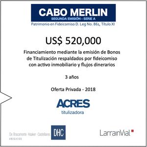 ACRES Titulizadora   ACRES Finance