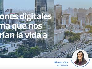 LIQUID-Blog: 5 soluciones digitales para Lima que nos resolverían la vida a todos.