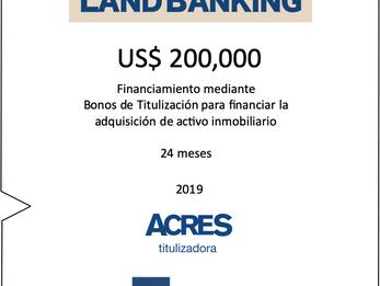 ACRES Titulizadora concretó financiamiento para compra de terreno para nuevo proyecto inmobiliario