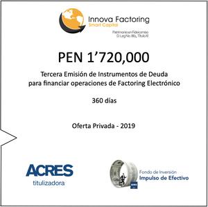Factoring | Fondo de Inversión | ACRES SAFI | ACRES Finance