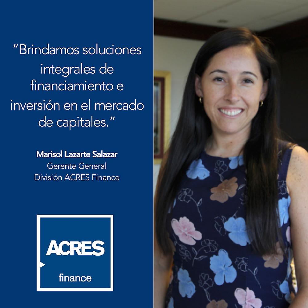 ACRES Finance | Marisol Lazarte Salazar