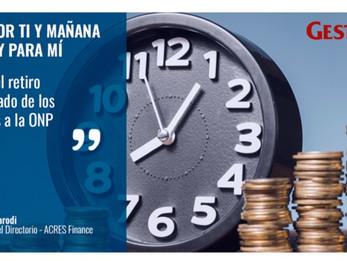 Diario Gestión: Artículo por Fernando Parodi, sobre el retiro anticipado de los aportes de la ONP